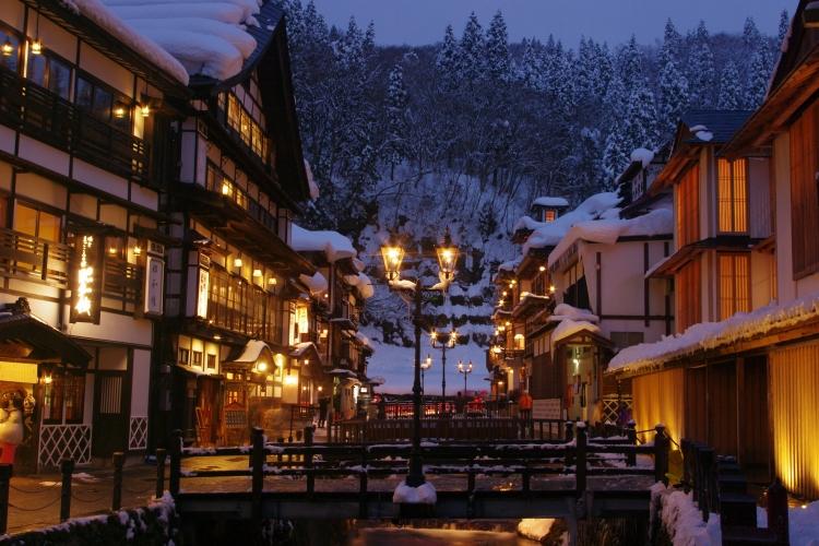 Ginzan onsen town