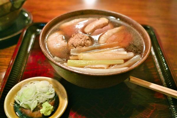 Kamo-nanban, namiki yabu-soba