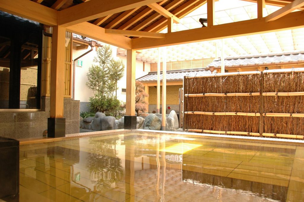 hotspring Sakura natural spring bath