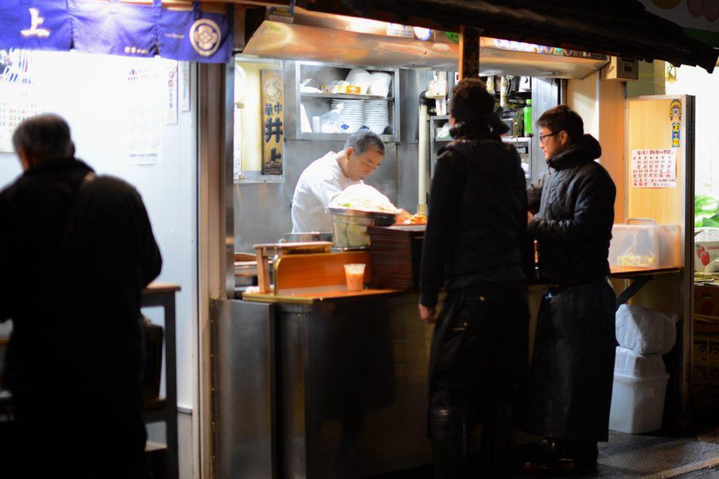 tsukiji inoue, ramen master