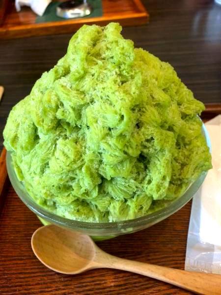 Cha-no Shizuku, Matcha Shaved Ice