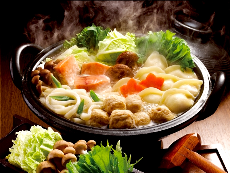 Chanko Nabe with a lot of vegetables