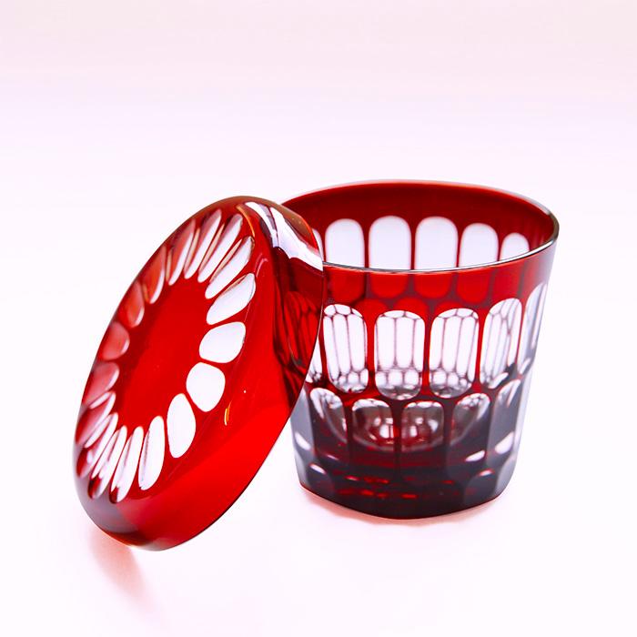 Edo Kiriko Red