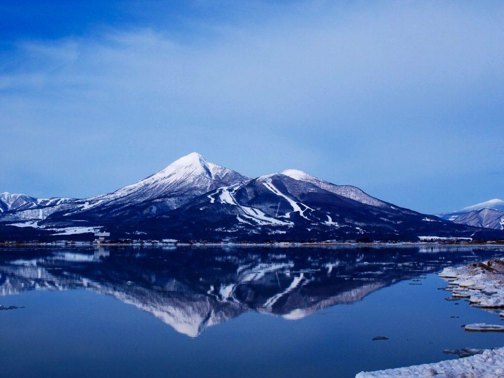 Inawashiro-ko, Lake Inawashiro, Mt. Bandai