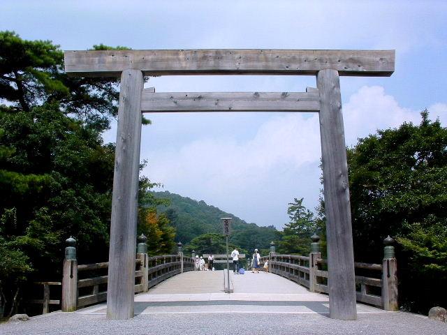 Ise Jingu, Torii gate in Naiku
