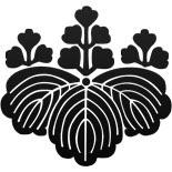 Japanese family creset, toyotomi familys crest, kirimon