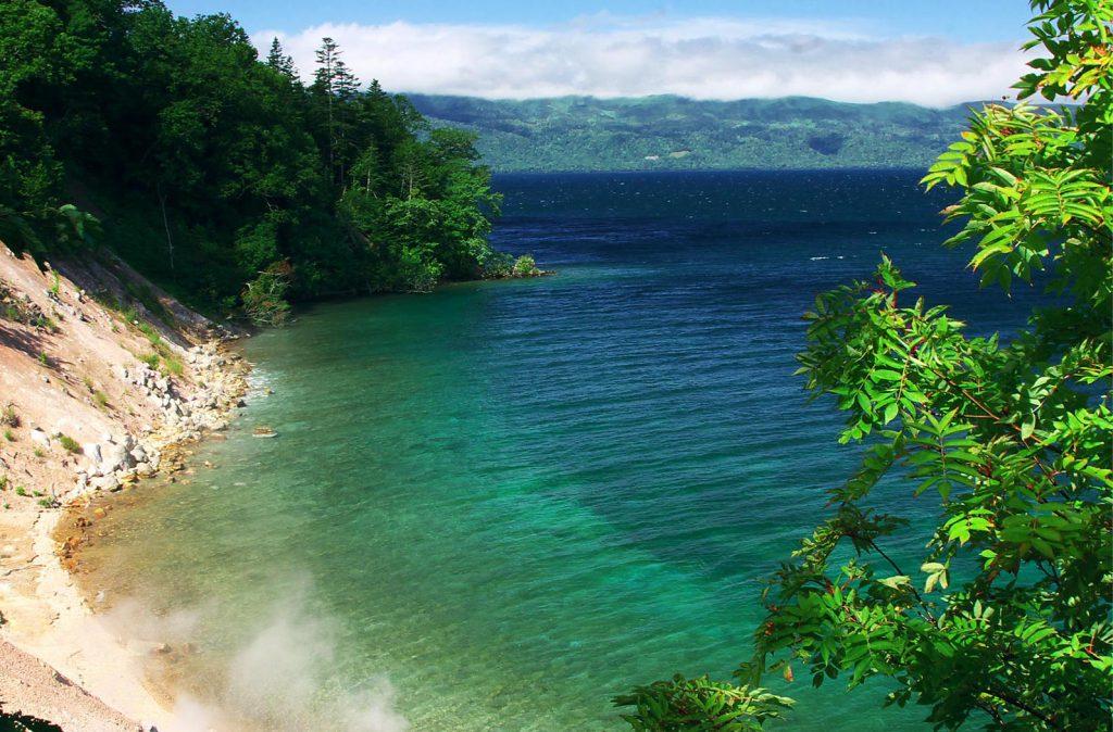 Kussyaro-ko Lake in summer