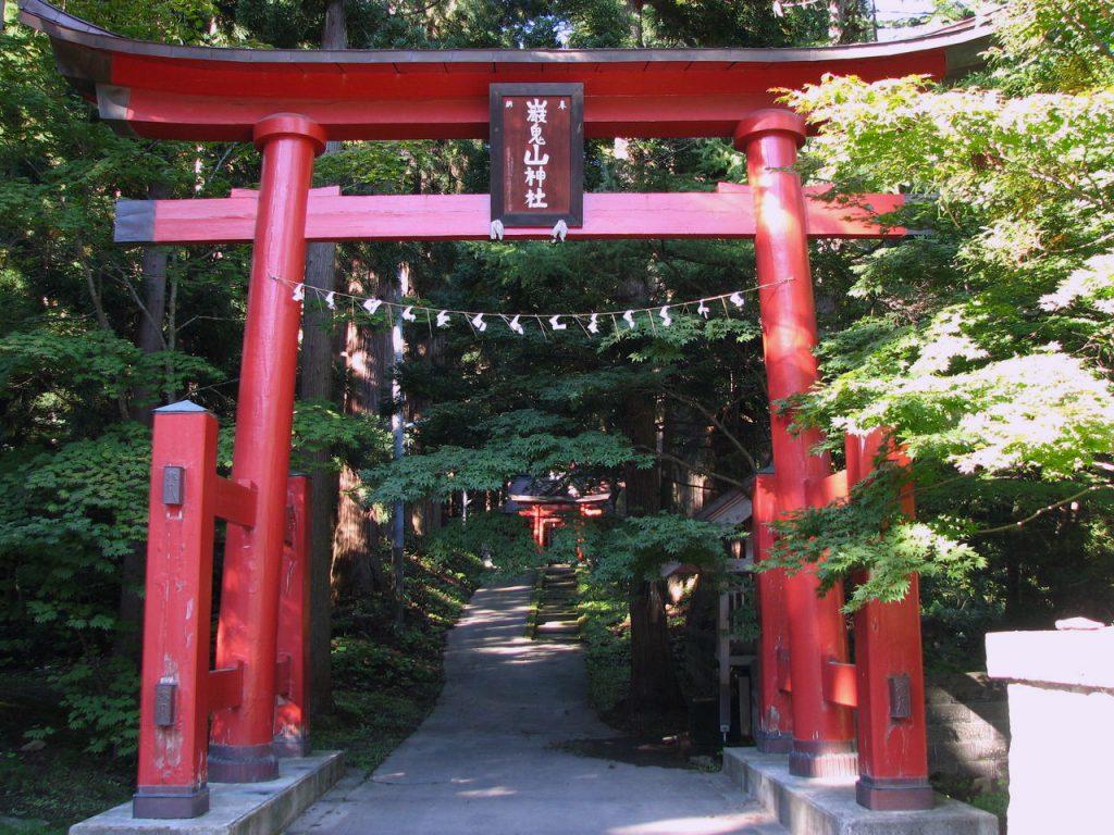 Mt. Ganki Shrine in Aomori