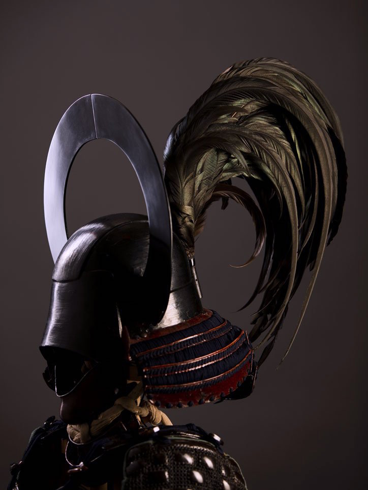 Ring and Chicken's feather helmet