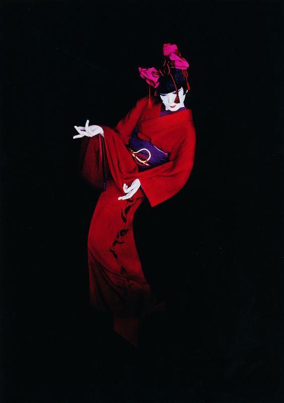 Sayoko Yamaguchi 山口小夜子 1990 Serge Lutens