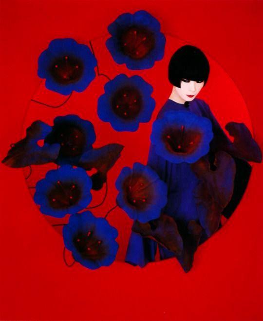 Sayoko Yamaguchi for Shiseido poster