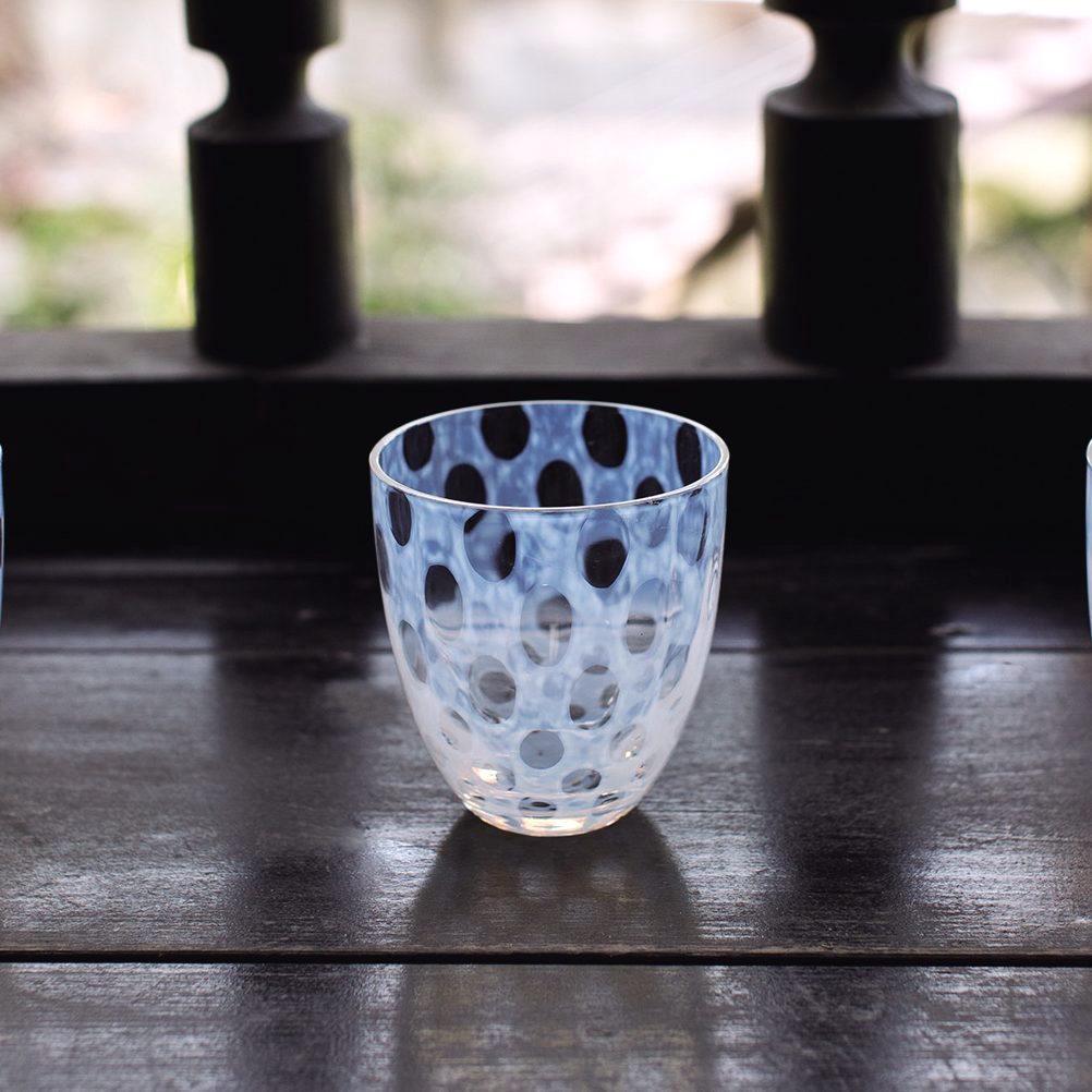 Taisho Roman Kiriko cut glass by Tatsuo Hirota