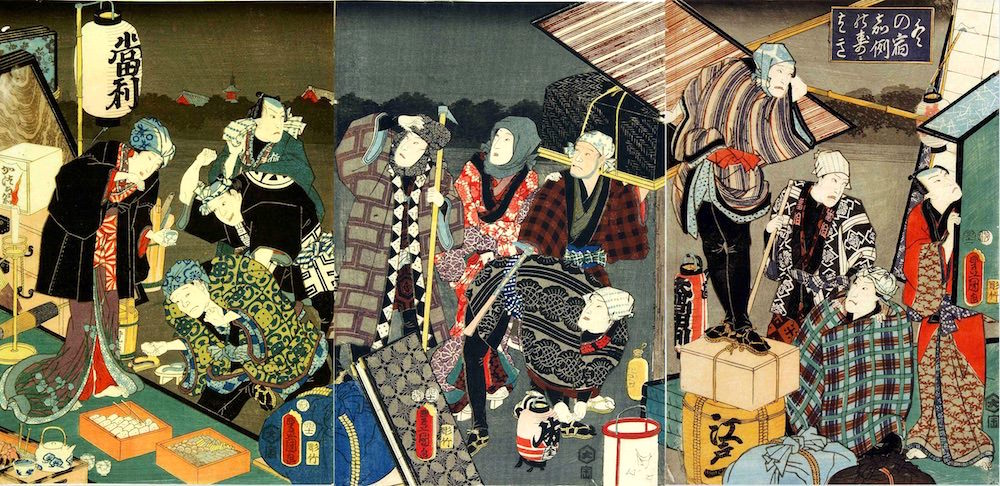 The Great Cleaning on Dec. 13rd in Edo period