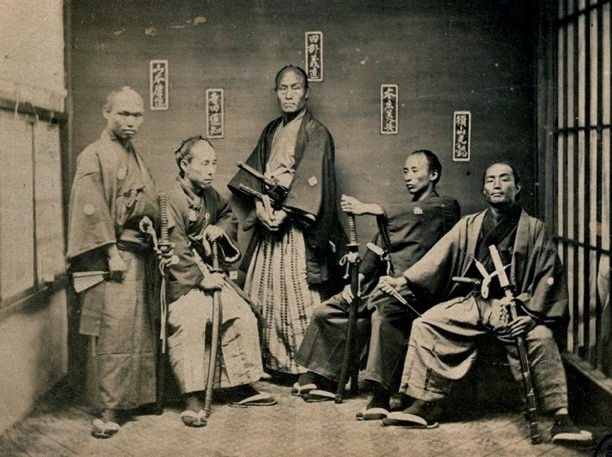 5 Samurai warriors