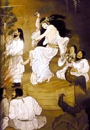 Ame no Uzume no Mikoto, Goddess Uzume