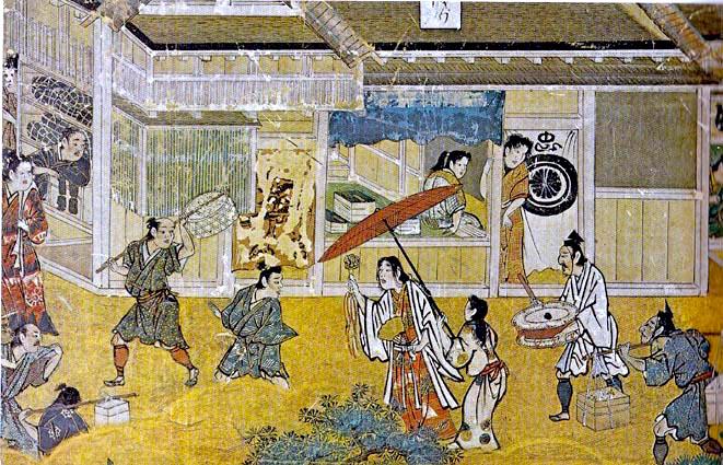 Arukimiko on Gojo-dori Street