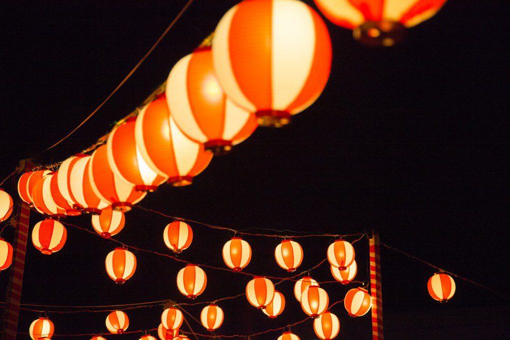 Bon Odori Festival, Paper Lanterns