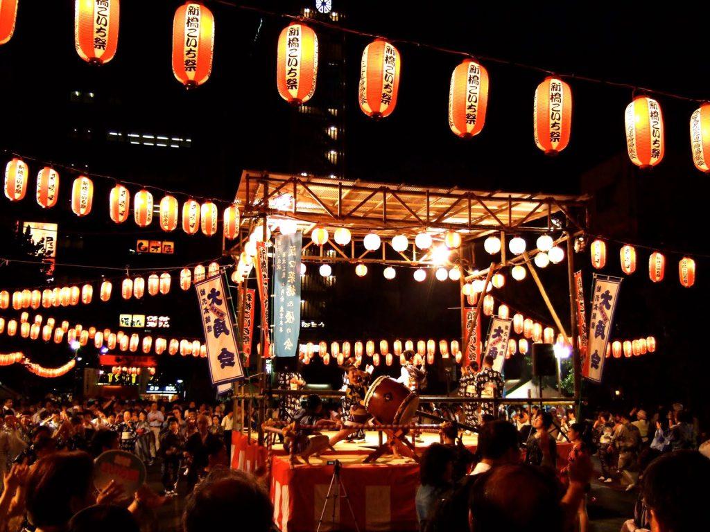 Bon Odori Festival, Yagura