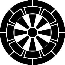 Genji-guruma crest