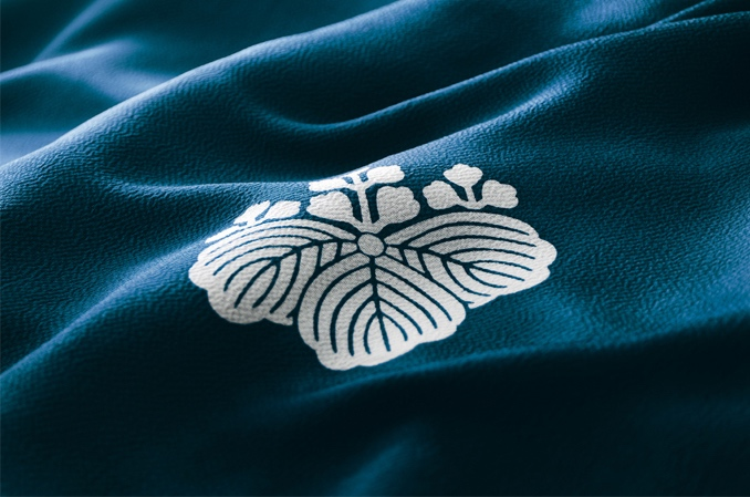 Japanese Family Crest, Kamon on furo-shiki