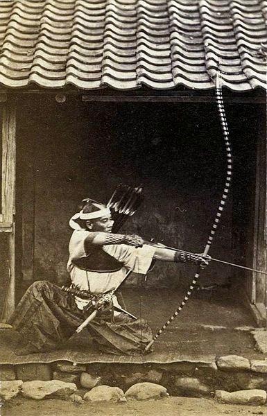 Kyudo, Posture