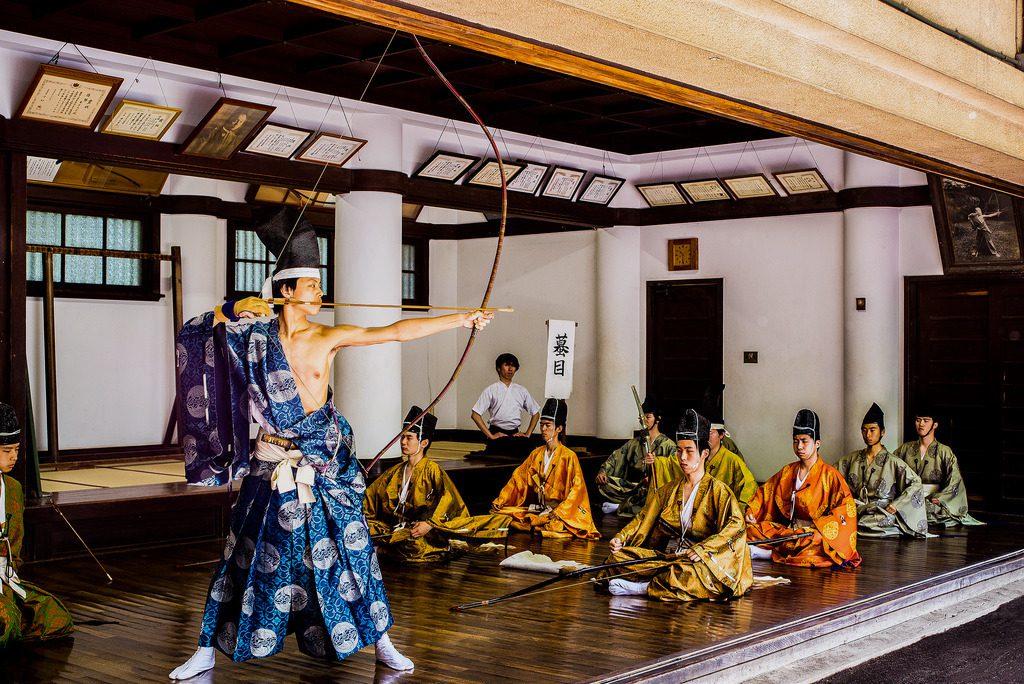 Kyudo in ritual