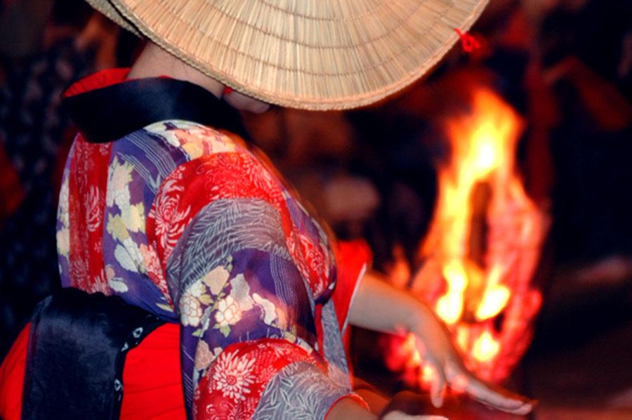 Nishimonai no Bon Odori Festival