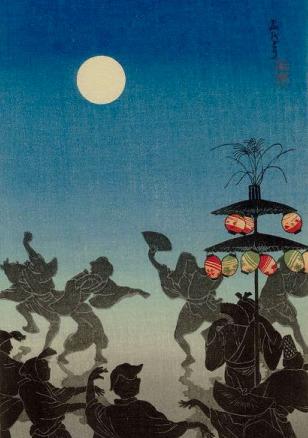 Obon Festival Dance (Bon odori) by Takahashi Shotei