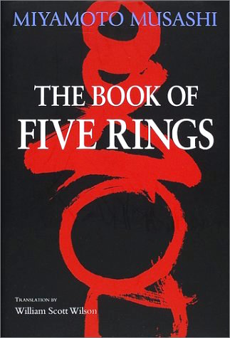 The Book of Five Rings by Miyamoto Musashi, cover