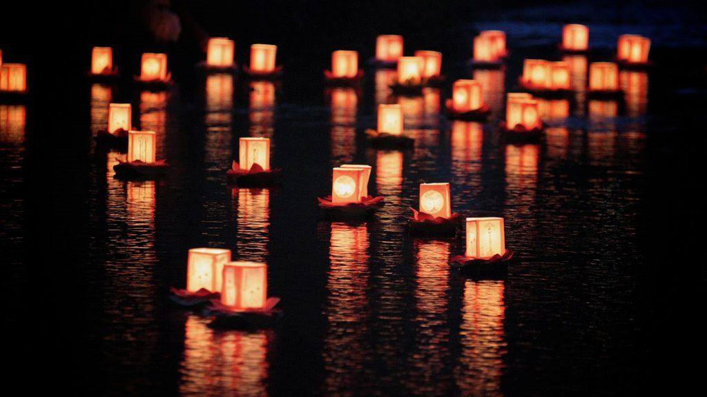 Toro Nagashi, Setting Lanterns Adrift