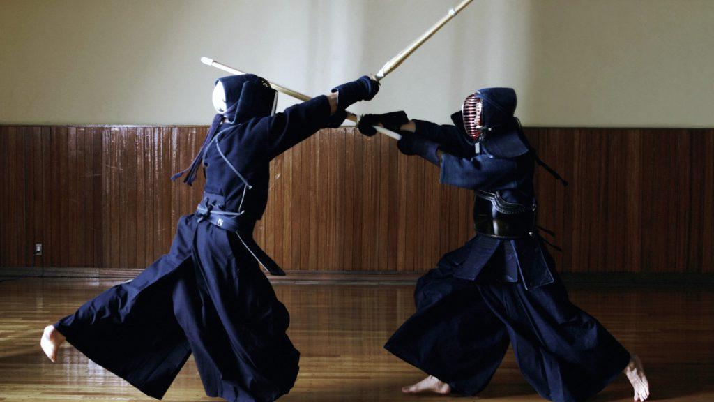 kendo in a game
