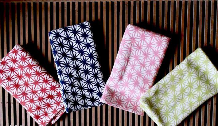 Asanoha Tenugui, hand cloth