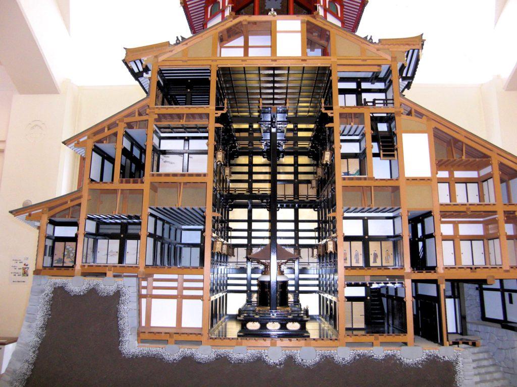 Azuchi Castle 1:20 Model