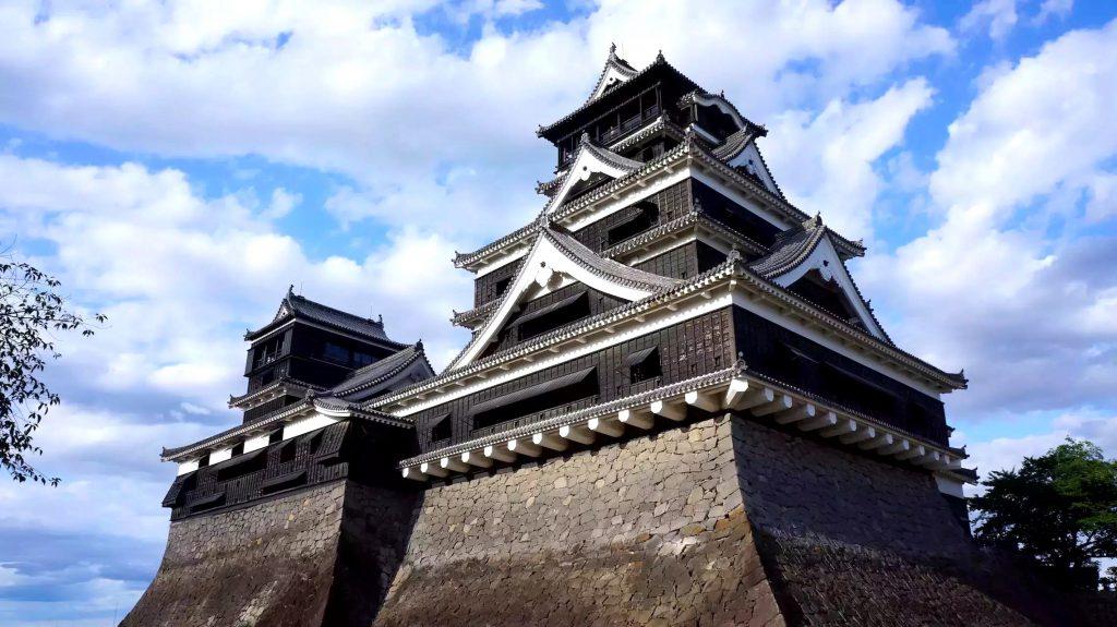 Kumamoto Castle in Kumamoto