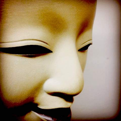 Noh mask of Female