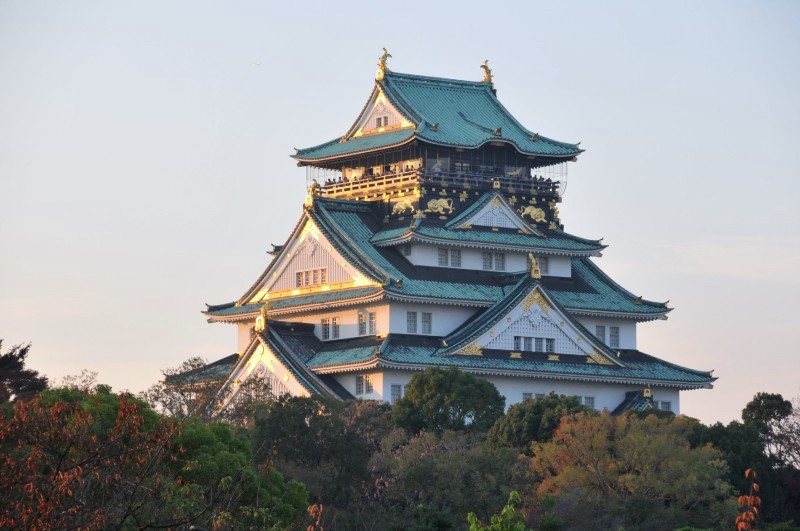 Osaka Castle, the Castle Tower