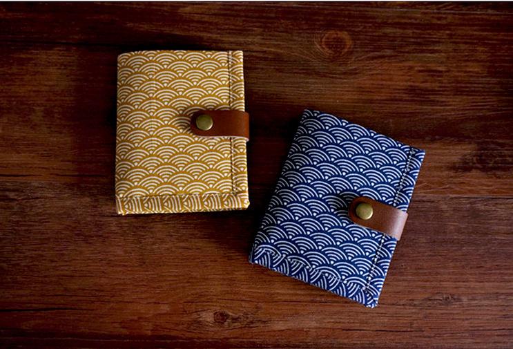 Seigaiha notebook cover