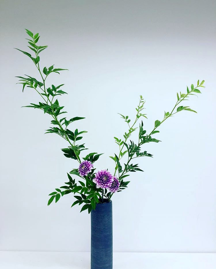 Ikebana, Nageire Upright Style