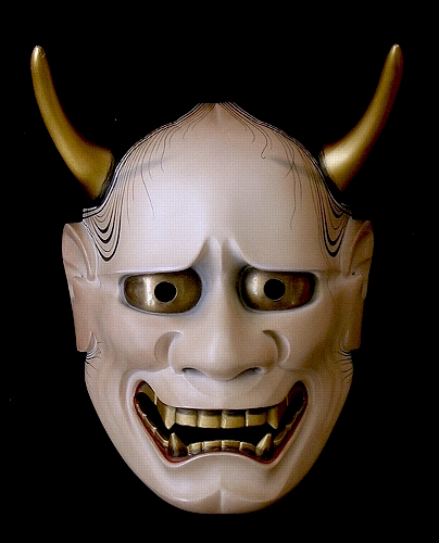Noh mask, one of the Ghost Spirit, Hannya