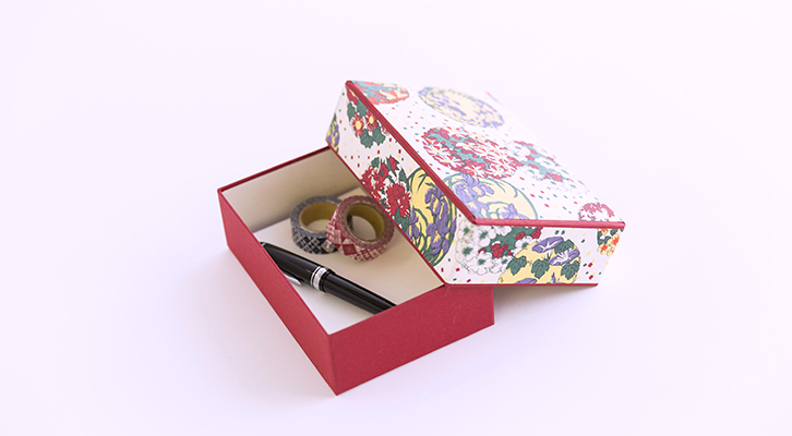 Chiyogami small box