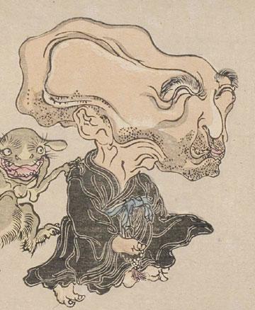 Nurarihyon by Kawanabe Gyosai 1890