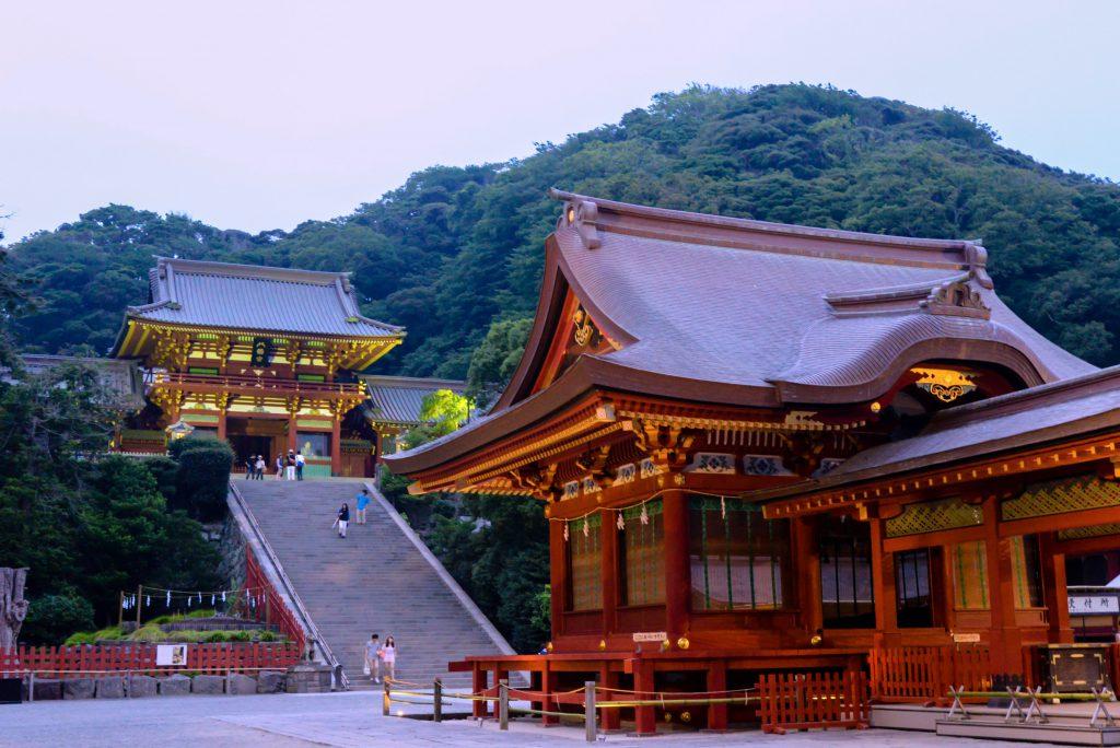 Tsuruoka Hachimangu in Kamakura, Kanagawa