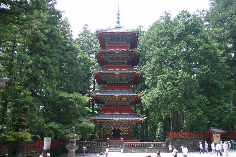 Five-Story Pagoda at Nikko Toshogu in Tochigi
