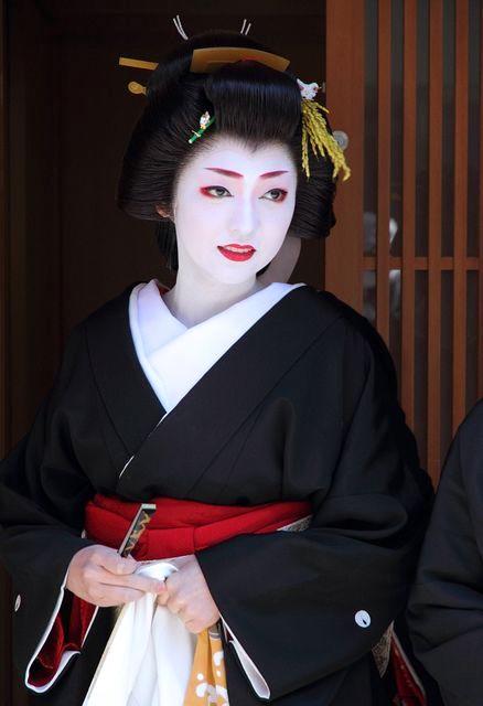Geisha (Geiko) Hairstyle - Shimada of Kikutsuru
