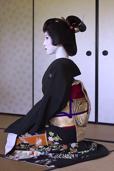 Geisha (Geiko) Hairstyle - Shimada
