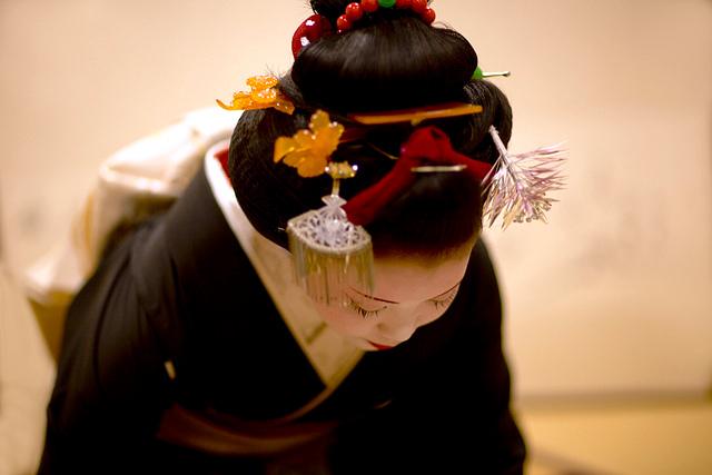Maiko Hairstyle - Yakko-shimada