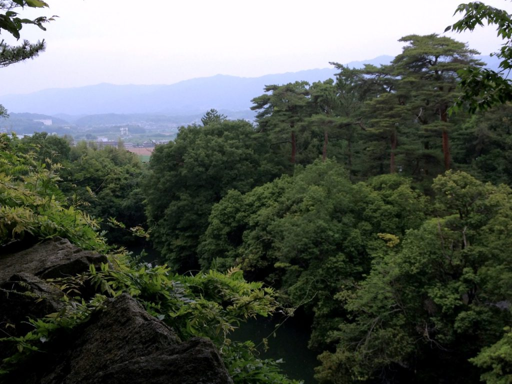 View from the Iga Castle in Mie
