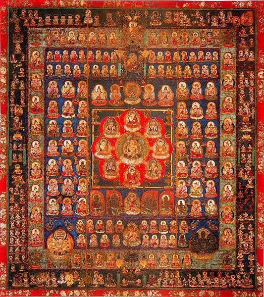 Garbhadhatu (Womb Realm) Mandala