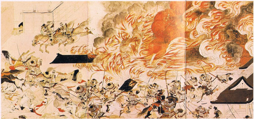 Heiji Rebellion in 1159