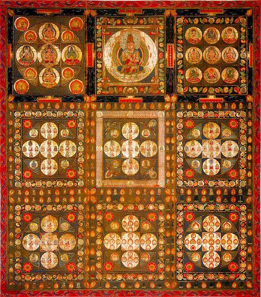 Vajradhatu (Diamond Realm) Mandala